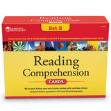 Reading Comprehension Cards Set 2 - Ages 8+ (Grade 3) - iPlayiLearn.co.za