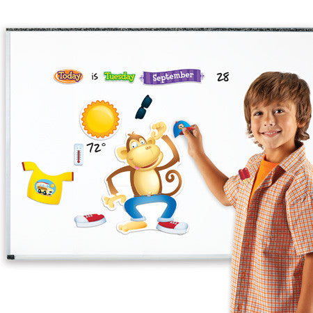 Funky Monkey Forecast Magnetic Daily Weather Set - iPlayiLearn.co.za