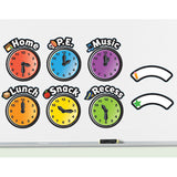 Magnetic Daily Schedule Clocks - iPlayiLearn.co.za
