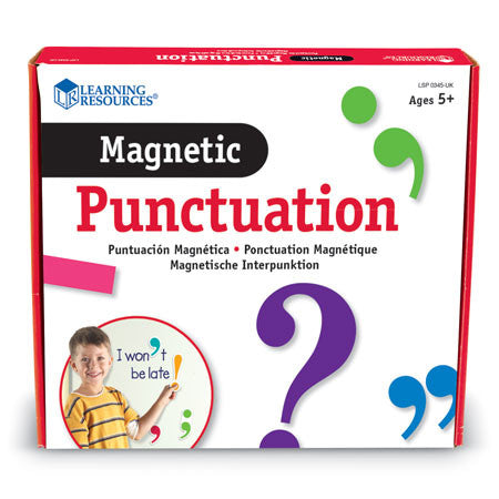 Magnetic Punctuation - iPlayiLearn.co.za  - 1