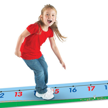 0-30 Number Line Floor Mat - iPlayiLearn.co.za