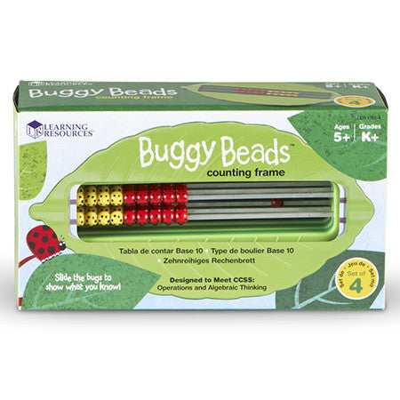 Buggy Beads Counting Frame set of 4 - iPlayiLearn.co.za