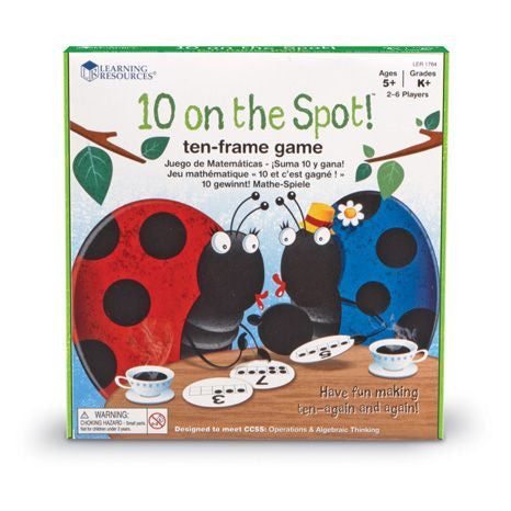 10 on the Spot!™ Ten Frame Game - iPlayiLearn.co.za  - 1