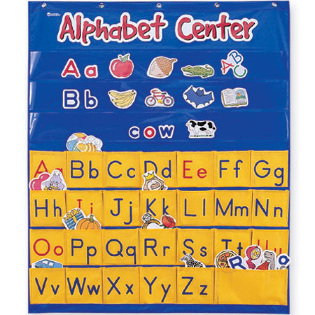 Alphabet Centre Pocket Chart - iPlayiLearn.co.za
