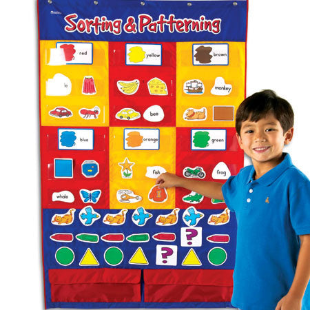 Sorting & Patterning Pocket Chart - iPlayiLearn.co.za