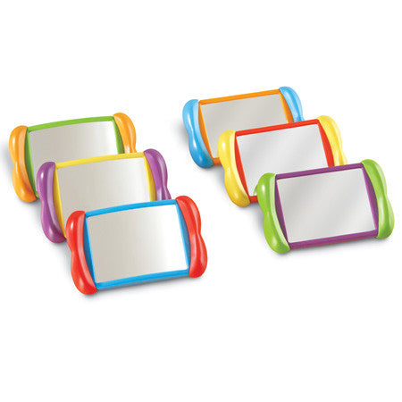 All About Me 2 In 1 Mirrors 6pc set - iPlayiLearn.co.za  - 1