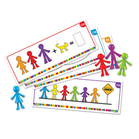 All About Me Family Counters Activity Cards - iPlayiLearn.co.za  - 1