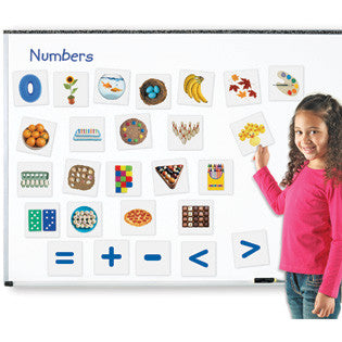 Double -Sided Magnetic Numbers - iPlayiLearn.co.za