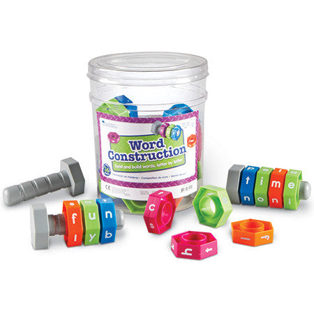 Word Construction 36pc set - iPlayiLearn.co.za  - 1