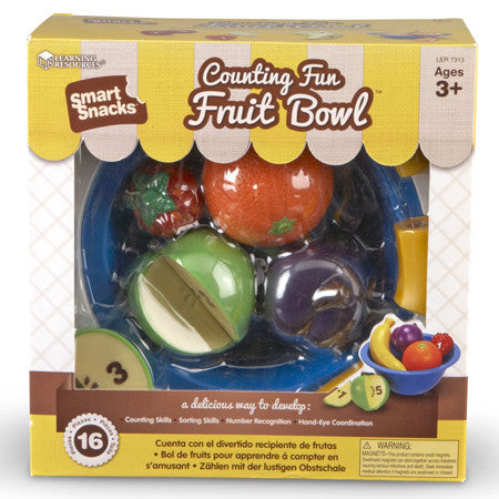 Smart Snacks Counting Fun Fruit Bowl - iPlayiLearn.co.za