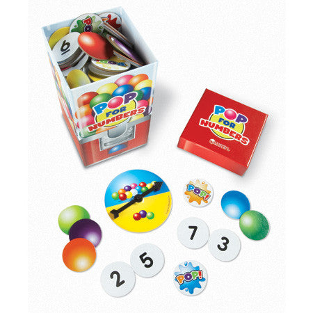 POP for Numbers Game - iPlayiLearn.co.za