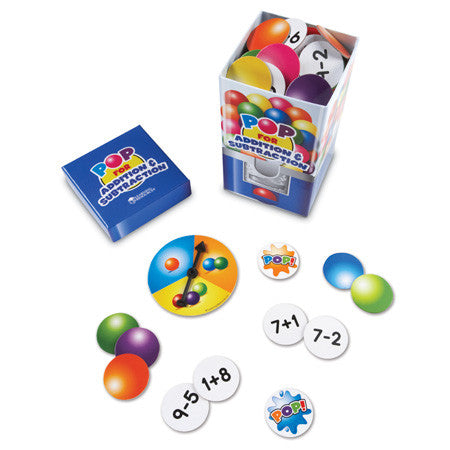 Pop for Addition & Subtraction™ Game - iPlayiLearn.co.za