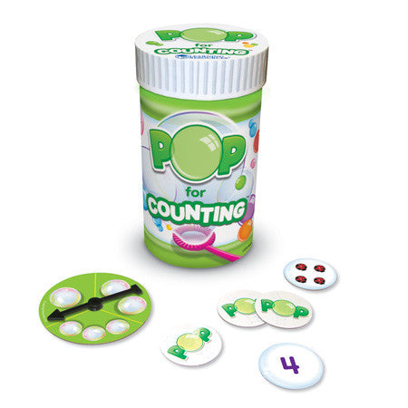 POP for Counting Game - iPlayiLearn.co.za