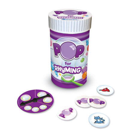 POP for Rhyming Game - iPlayiLearn.co.za