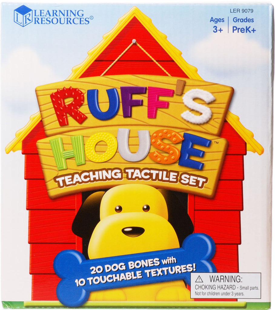 Ruff's House Teaching Tactile Set - iPlayiLearn.co.za  - 1