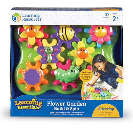 Gears! Gears! Gears!® Build & Spin Flower Garden Building Set - iPlayiLearn.co.za  - 1