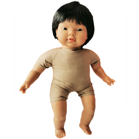 Soft Body Baby Doll with hair - Indian
