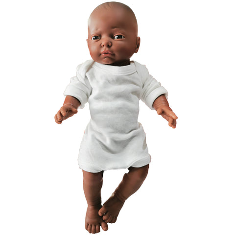 Anatomically Correct Baby Doll - African Girl