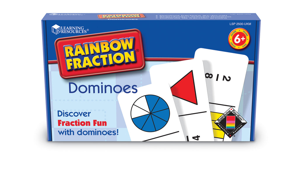 Rainbow Fraction Dominoes
