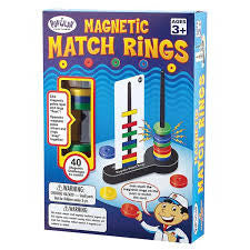 Magnetic Match Rings - iPlayiLearn.co.za