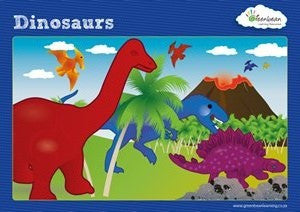 Activity Cards Dinosaur Counters (ages 5+) - iPlayiLearn.co.za