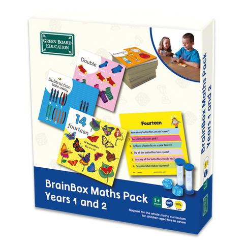 BrainBox Maths Pack Years 1 and 2 (Ages 5 - 7)