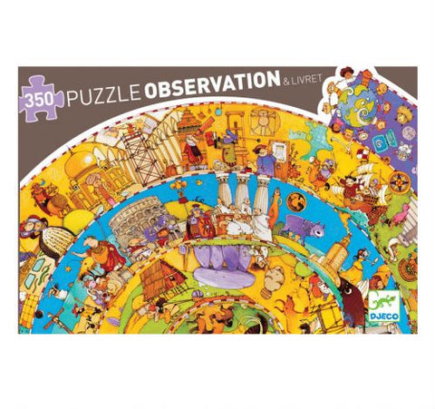 Observation Puzzle: World History 350pc