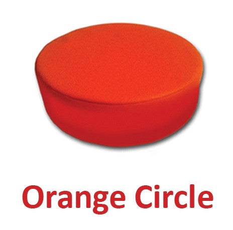 Senseez Vibrating Cushion - Orange Circle (Vinyl) - iPlayiLearn.co.za  - 1
