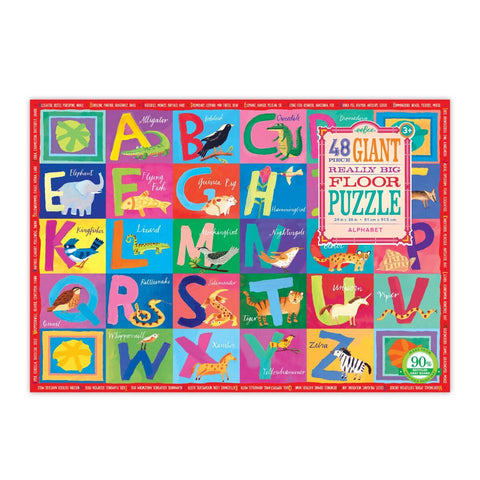 Alphabet Giant Really Big Floor Puzzle 48pc