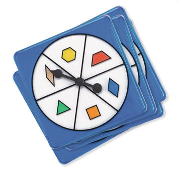 Spinners Pattern Block 5pc pbag - iPlayiLearn.co.za