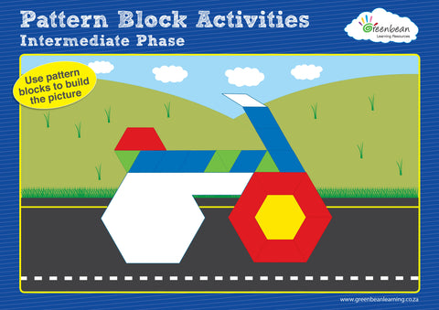 Activity Cards Pattern Blocks Set 2