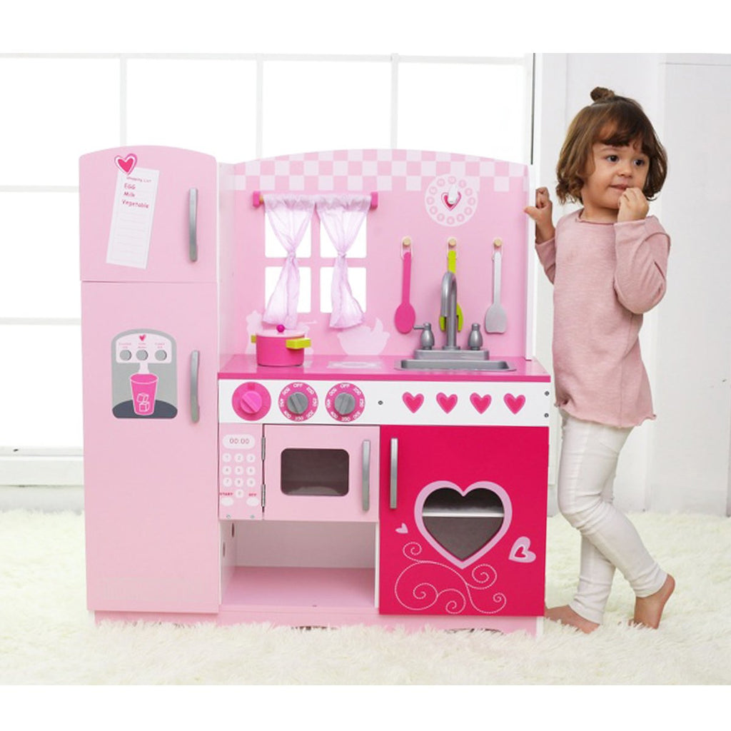 Pink Kitchen 8pc