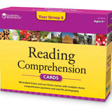 Reading Comprehension Cards Set - Ages 6+ (Grade 1) - iPlayiLearn.co.za
