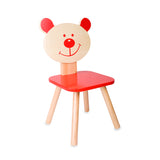 Wooden Bear Chair