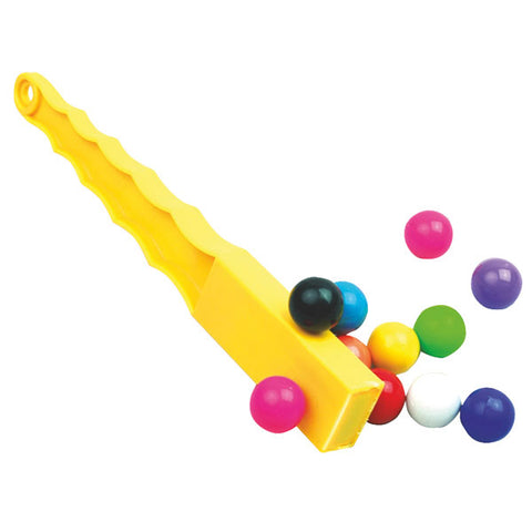 Magnet Wand Yellow with 12 Magnetic Marbles