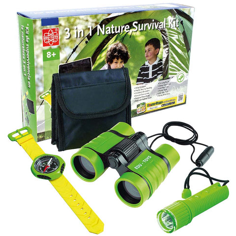 3 in 1 Nature Survival Kit