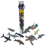 National Geographic Ocean Animals Figures Small 5-12cm 13pc in Tube