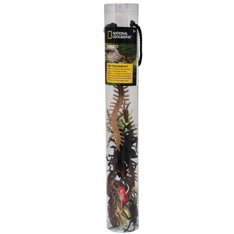 National Geographic Insects Small 4 - 12cm, 14 Figures