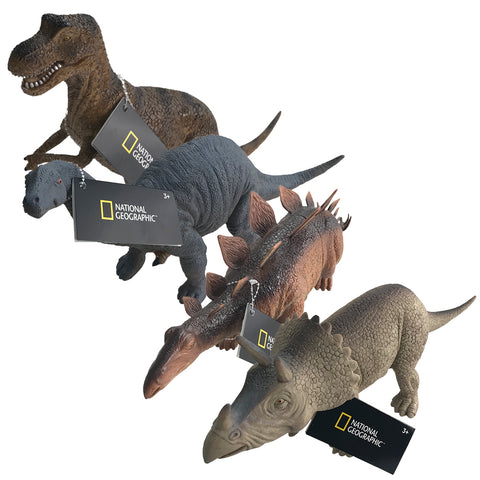 National Geographic Dinosaurs Jumbo 30.5cm - 4 Figures