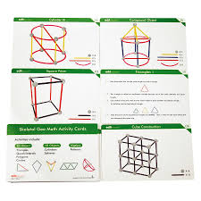 Skeletal Geo Activity Cards 20pc