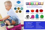 Senseez Vibrating Cushion - Bumpy Turtle (Plush Material) - iPlayiLearn.co.za  - 2