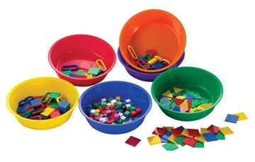 Sorting & Paint Bowl Set 6 Col 6pc - iPlayiLearn.co.za