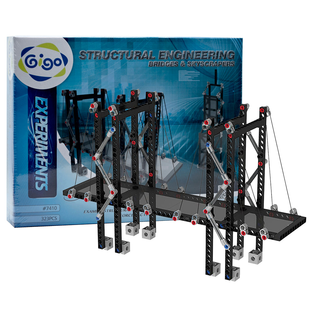 Structural Engineering Bridges & Skyscrapers 323pc
