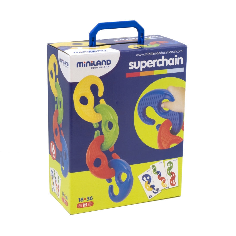 Superchain 16pc - iPlayiLearn.co.za  - 1