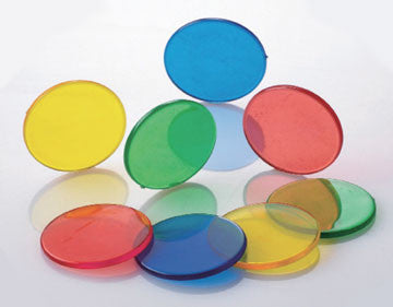 Counters Round Transparent 25mm 1000pc - iPlayiLearn.co.za