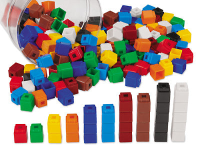 Unifix cubes 300pcs container - iPlayiLearn.co.za