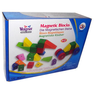 Magnetic Building Blocks with Activity Cards