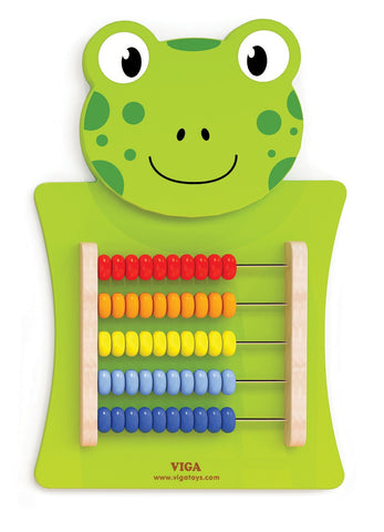Wall Mounted Activity: Frog - Abacus