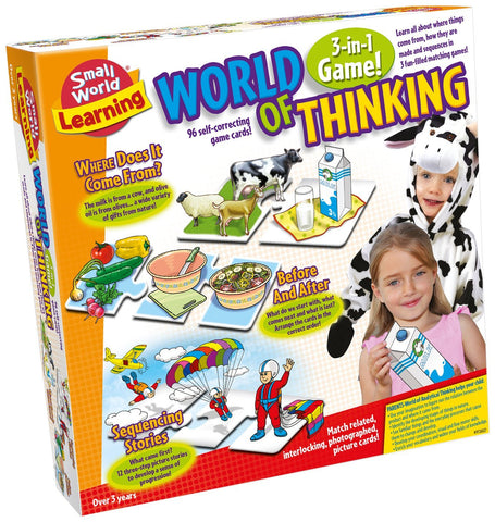 World of Thinking 3-in-1 Game