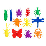 Counters Bugs 12 Shapes 6 Colours 72pc pbag